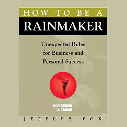 How to Be a Rainmaker cover art