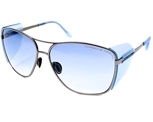 Porsche Design - Gafas de sol - para hombre plateado silber - kristall blau Large