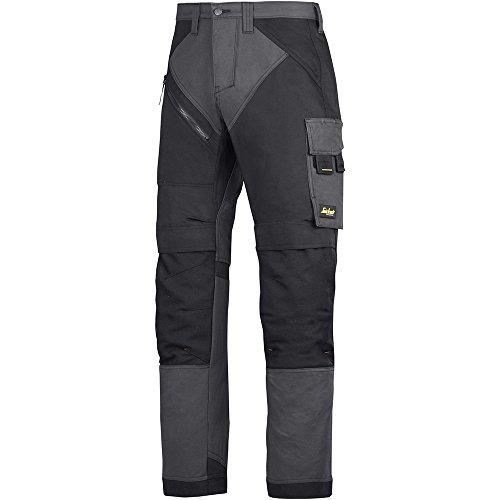 Snickers Workwear 6303 RuffWork Arbeitshose, stahlgrau-schwarz, 120