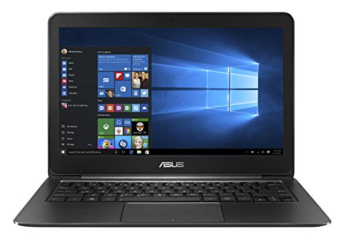ASUS Zenbook UX305UA-FC060T - Portátil de 13,3 pulgadas, full HD (IPS no Glare, Intel Core i5 6200U, 8 GB de RAM, 512 GB SSD, Intel HD, Windows 10 Inicio), negro