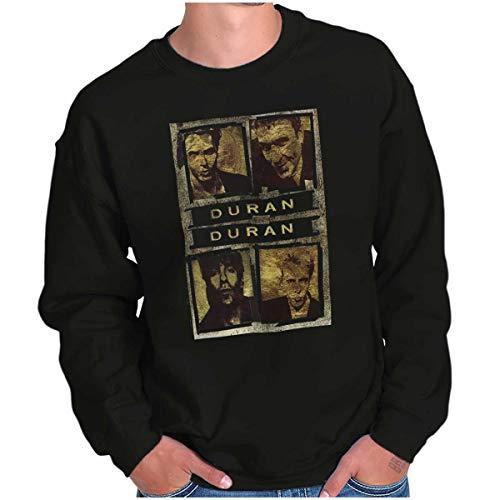 Duran Duran Vintage 1980s Black Sweatshirt, Unisex, S to 5XL