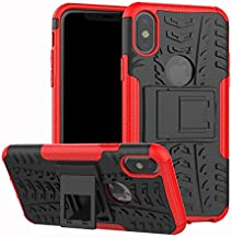 Fitted Cases - Shockproof Armor Protective Case For for ASUS zenfone 4 Selfie ZD553KL Live plus ZB553KL ZD553KL ZE554KL Stand Phone Back Case Cover (Red For ZD553KL)