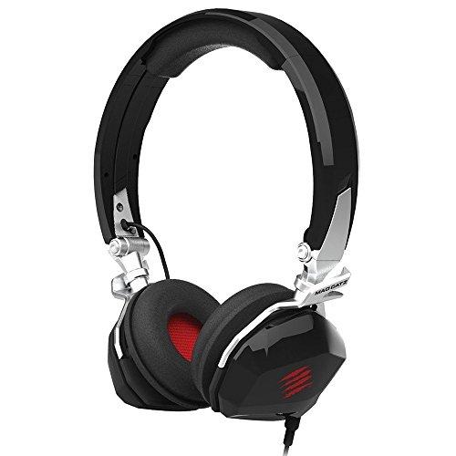 Mad Catz F.R.E.Q.M Mobile Stereo Headset für PC, Mac und mobile Endgeräte - Schwarz Glänzend
