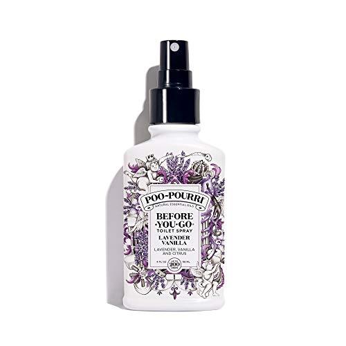Poo-Pourri Before-You-go Toilet Spray, Lavender Vanilla Scent, 4 Fl Oz