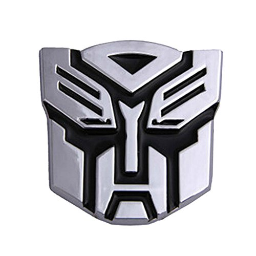Dodolive Auto Dekoration Transformers Aufkleber Logo Metall 3D Autobot Emblem Badge Aufkleber Truck Auto Styling Car Styling Covers