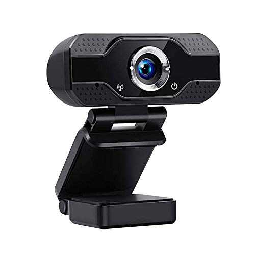 Computer USB Webcam for PC, Webcam with Microphone, Streaming Computer Web Camera For Youtube,Skype, FaceTime,Hangouts,WebEx,Desktop,Computer/Mac/Laptop/Macbook(X4-1080P)