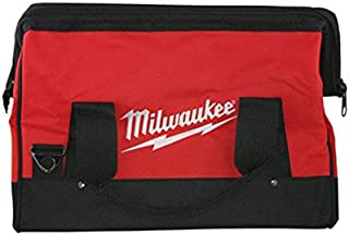 Milwaukee 16-Inch 6-Pocket Heavy Duty Canvas Industrial Carrying Tool Bag