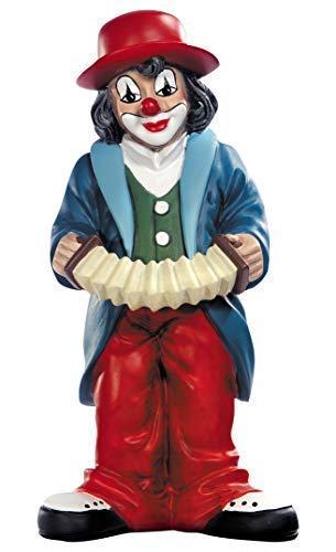 Gildeclown Musikus - Deko Figur für Sammler handgearbeitet Höhe 8 cm