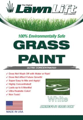 Large special price Lawnlift Ultra Concentrated White Grass 2.25 Paint Gal = Indianapolis Mall 32oz.