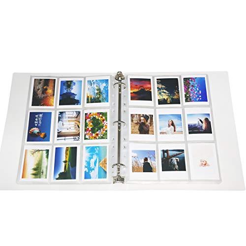 Big Trend 720 Pockets Mini Film Photo Album Book for Fujifilm Instax Mini 11 9 8 7s 70 25 50s 90 Instant Camera 3 Inch Picture Name Card Holder (White, 720 Pockets)