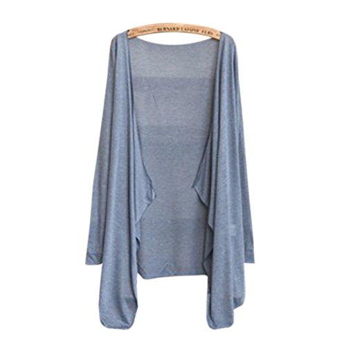 RONSHIN Fashion for Lente herfst vrouwen vest met lange mouwen zon bescherming sjaal breien dunne trui vrouwelijke kleding