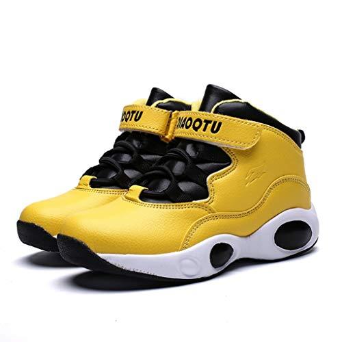 Chaussures de Sport pour Enfants Automne et Hiver imperméable à l'eau en Plein air Ainsi Que Velours Chaud Chaussures pour Enfants épais Bas Non Slip Chaussures d'étudiant Baskets Plates
