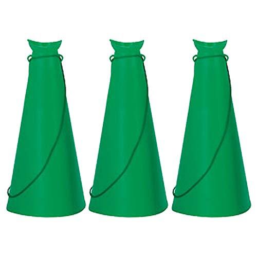 EVERNEW(エバニュー) メガホン L 緑 グリーン 3個セット EKB001-G