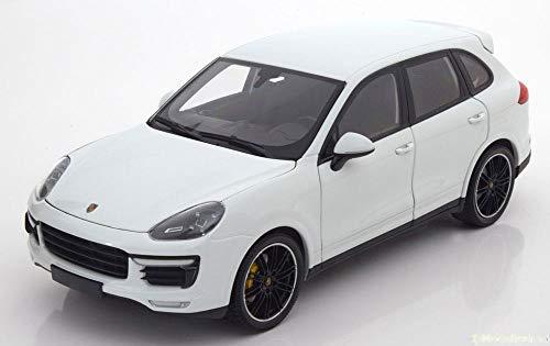 ミニチャンプス 1/18 ポルシェ カイエン ターボ S 2014 ホワイト