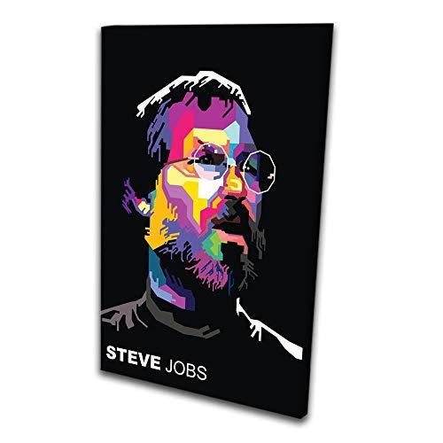 Quadro Decoratvo Tela Parede Steve Jobs