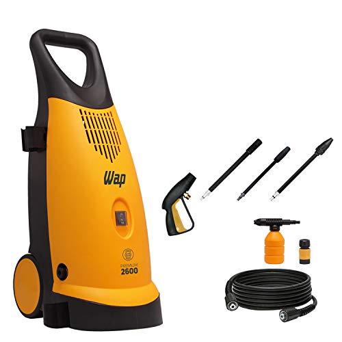 Lavadora de Alta Pressão WAP PREMIUM 2600 Indução 1900W 2400 PSI/Libras 360L/h Profissional Semi Intensivo 127V
