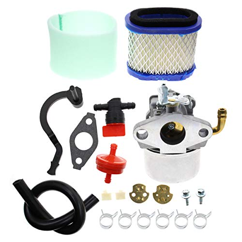 Carbhub 591925 Carburetor for Briggs and Stratton 698479 693518 698475 591925 Engine Motor Powered Chipper/Shredder Craftsman Garden Tiller with Air Filter Fuel Hose Replace 591925