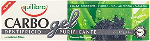 Equilibra Igiene Dentale, Carbo Gel Dentifricio...