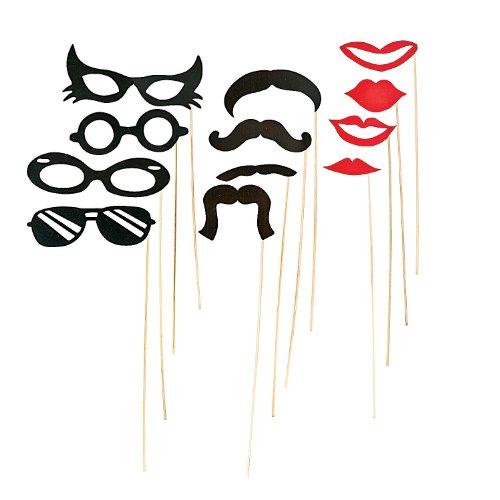 Fun Express - Stick Costume Props - Apparel Accessories - Costume Accessories - Costume Props - 12 Pieces
