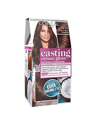 L'OREAL Casting 415 Glasierte Maronen-Creme Kein Ammoniak - Estrosa Haarfärbemitteln
