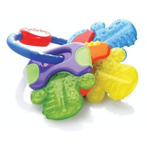 Nuby Ice Gel Teether Keys, 1 Pack Multicolor Now $3.68 (Was $4.99)