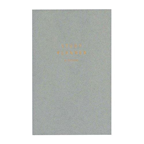 いろは出版 STUDY PLANNER/スタディプランナー 勉強用手帳【グレー】 GSS-04