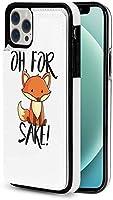 iphone 12 pro ケース iphone12 ケース 手帳型 フォックス酒 Iphone12 mini Iphone12 Pro Max 用 スマホケース スタンド機能 Apple 12 レザーウォレットケースアイフォン12 ケース / アイフォン12プロ ケース 財布型