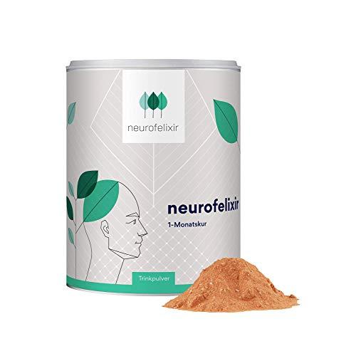 neurofelixir® Trinkpulver / natürliches Anti-Aging mit EGCG, Kurkuma, Vitaminen und Aminosäuren/ Monatspackung/ 100% vegan.