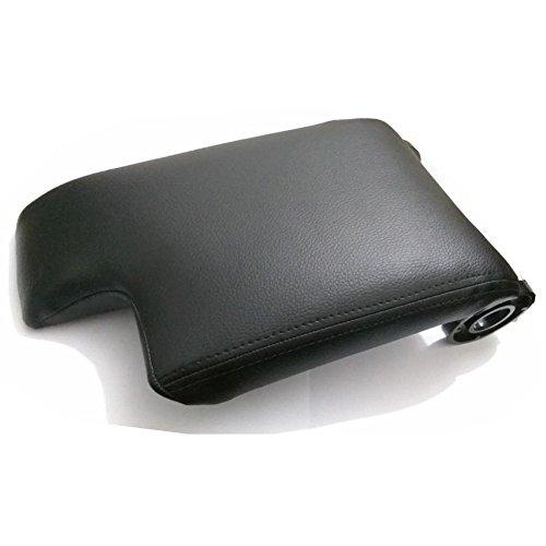 SP-Auto Cuero Negro apoyabrazos Center Console Armrest Lid Cover para BMW E461999–2004(no Sólo la Piel Parte, Incluye Todo, en la Imagen)