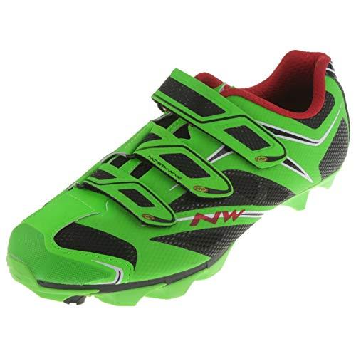 Northwave Scorpius 3S Scarpe per bici MTB Verde 2014, verde fluo, 43