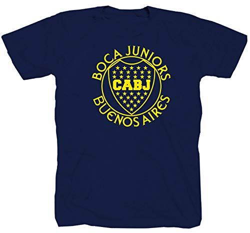 Boca Juniors Jugador Maradona Fútbol Argentina Ultras Azul T-Shir Tee Camiseta, Polo...