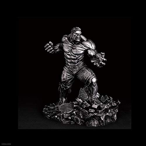 Qivor Rache Allianz Hulk Resin Material Realistische Statue Modell 26cm Desktop Anime Dekoration