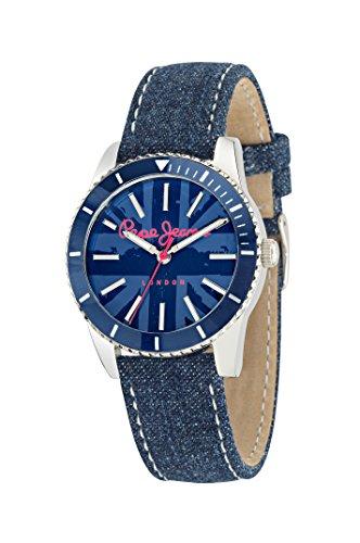 Pepe Jeans Reloj analogico para Mujer de Cuarzo con Correa en Piel R2351102506