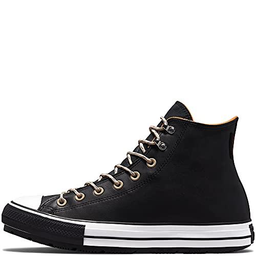 Converse Chuck Taylor All Star Winter Hi 171441C 001 - Sneakers da uomo, nero bianco e nero., 42 EU