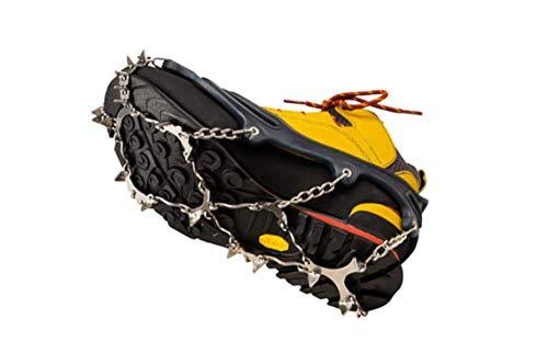 Snowline Spikes Chainsen Pro XT Blau-Schwarz, Grödel, Größe XXL - Farbe Navy - Black