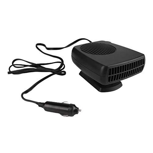 Shiwaki Calentador Automático Portátil para Automóvil Ventilador Desempañador 150W Calefacción del Automóvil Refrigeración Desempañador Desempañador Ventilado - 24V