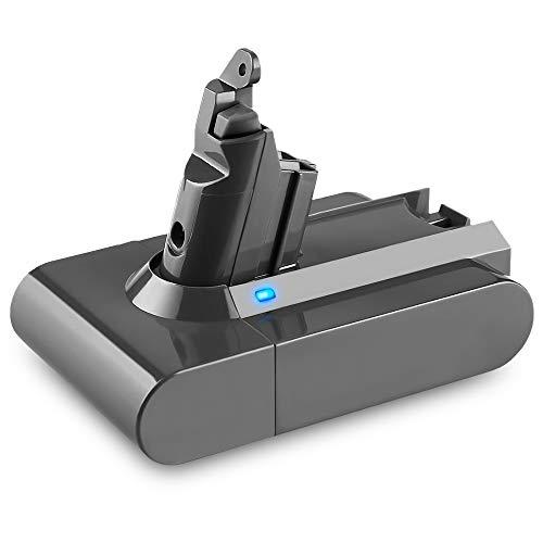 Upgraded 5.0Ah 21.6V Replacement V6 Battery Lithium, Compatible with V6 DC59 DC58 DC61 DC72 DC74 DC62 Absolute Animal 595 650 770 880 SV03 SV04 SV05 SV06 SV07 SV09 Handheld Vacuum