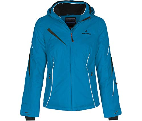 Bergson Damen Skijacke Destiny, Methyl Blue [349], 48 - Damen