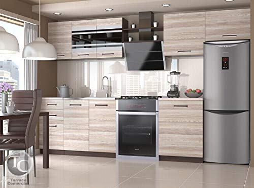 Muebles de Cocina Ella Acacia 300 cm