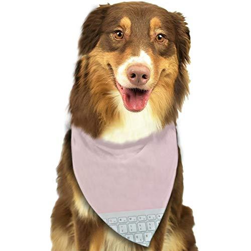 N/B Bbgsw Zilver Apple Toetsenbord En Magic Mouse Aangepaste Hond Hoofddoek Heldere Gekleurde Sjaals Leuke Driehoek Bibs Accessoires Voor Huisdier Honden