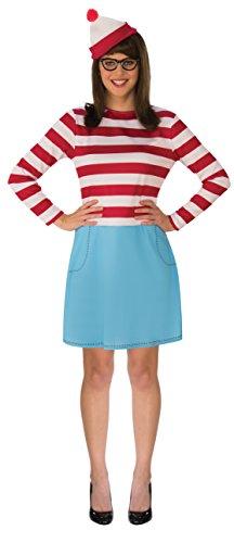 Best Where's Waldo Wenda Costume for Women