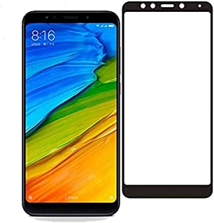 Xiaomi Redmi 5 Plus 3D Curved Full Coverage Tempered Glass Screen Protector For Redmi 5 Plus With Black By Muzz