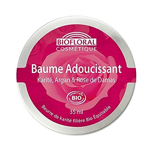 Biofloral Baume précieux adoucissant au Karité et Rose de Damas 35ml