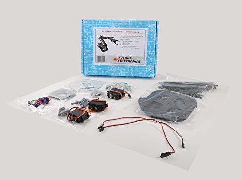 Futura Elettronica Brazo robot de plexiglás