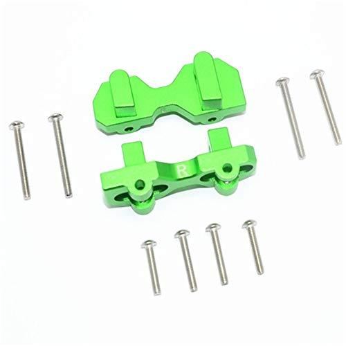 ETbotu accessoires voor auto RC-upgrade, TRAXXAS 1/7 onbeperkt Desert Racer aluminium legering rolluiken vooraan 1 paar Groen