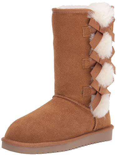 Koolaburra by UGG womens Victoria Tall Fashion Boot, Chestnut, 9 US