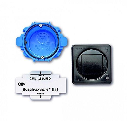 Busch-Jaeger 3048/10 montageset Busch-Axcent Flat Up 1-vak