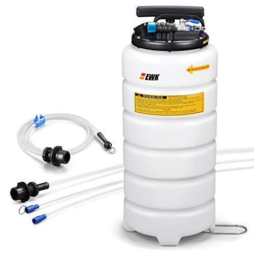 EWK 15L Oil Changer Fluid Vacuum Extractor Oil Pump Extractor Pneumatic Fluid Evacuator + Brake...
