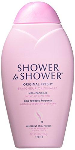 Shower to Shower Absorbent Body Powder-original Fresh - 8 Oz by Shower To Shower