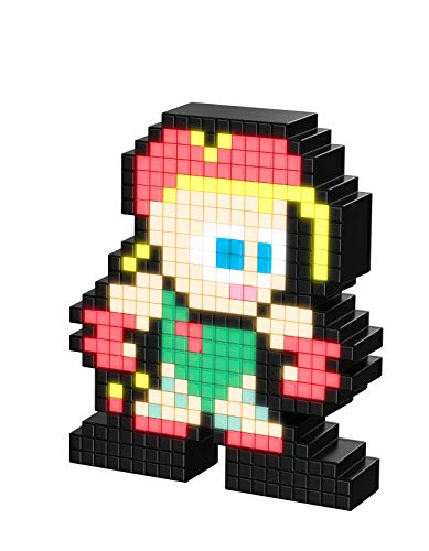 PDP Pixel Pals Capcom Street Fighter II Cammy Collectible Lighted Figure, 878-033-NA-CAMMY